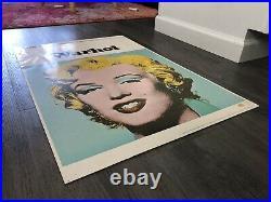 Large 20x30 Vintage Original Andy Warhol Marilyn Monroe Poster Tate Gallery