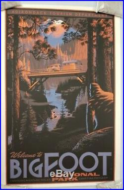 Laurent Durieux Bigfoot National Park Poster Print Art