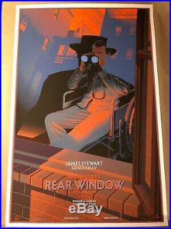 Laurent Durieux Rear Window Movie Poster Mondo Art Print Alfred Hitchcock Reg