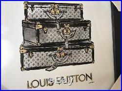 Limited Framed Art Print Picture Louis Vuitton Vintage by Fairchild Paris 12x12