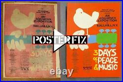 Linen Backing for your TEN vintage 1-sheet POSTERS