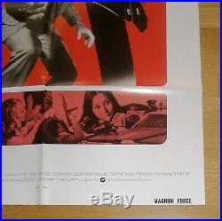 MAGNUM FORCE (1973) Clint Eastwood Rare Original Vintage US One Sheet Poster