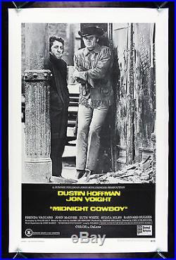 MIDNIGHT COWBOY CineMasterpieces VINTAGE ORIGINAL MOVIE POSTER 1969