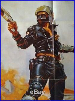 Mad Max vintage original U. S. 1 -Sheet Theatrical Poster 1979 AIP Release Folded