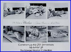 Marilyn MonroeLast PhotosGeorge Barris 1962-1987Vintage Poster 24x30 Rare