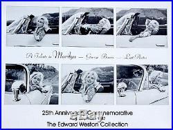 Marilyn Monroe Last PhotosGeorge Barris 1962-1987Vintage Poster 24x30 Rare