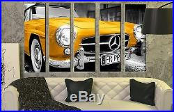 Mercedes-Benz Wall Art Picture on Canvas Vintage Classic Car Poster Print 35x55