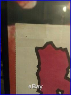 Misfits Pushead poster rare original vintage Die Die 12 insert