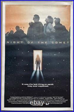 NIGHT OF THE COMET Movie Poster Original Vintage 1984 40 x 27
