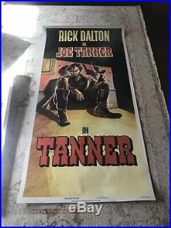 Once Upon A Time In Hollywood Rare Bus Shelter Poster Tarantino DiCaprio Vintage