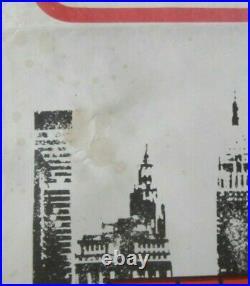 Original The French Connection vintage UK Quad film poster 1971 GENE HACKMAN