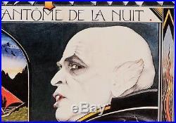 Original Vintage French Movie Poster Nosferatu Vampire Herzog