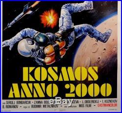 Original Vintage Italian Movie Poster Kosmos Anno 2000 ca. 1973