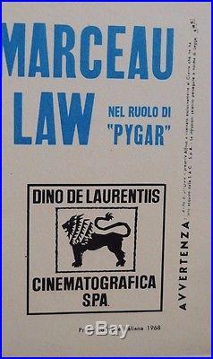 Original Vintage Italian Poster of Jane Fonda in Barbarella 1968 55x 39