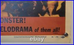Original Vintage Movie Poster Godzilla Commercial Reprint 1980's 26,5 x 40