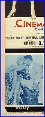 Original Vintage Movie Poster Insert SEVEN YEAR ITCH Marilyn Monroe 14 x 36