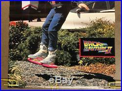 Original Vintage Poster Back to the future movie memorabilia 1980s Michael J Fox