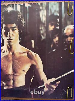 Original Vintage Poster Bruce Lee Kung Fu Martial Arts Pin Up Movie Memorabilia