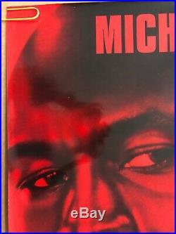 Original Vintage Poster Michael Jordan Space Jam Movie Memorabilia Promo 1996