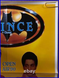Original Vintage Poster Prince & Guest 1990 Movie Music Memorabilia Open Air'90