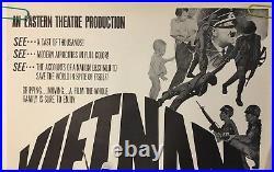 Original Vintage Poster Vietnam Faux Movie 1970s Anti-War Propaganda USA 70s