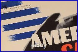 Original Vintage Propaganda Poster America Calling by Herbert Matter 1941