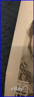 Original Vintage Tall In The Saddle Movie Poster Black & White 22x28 John Wayne