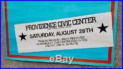 Original Vintage The Clash 1982 Concert Poster The Future Is Unwritten Tour