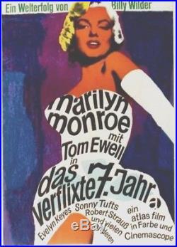 Original vintage poster MARILYN MONROE FILM WILDER 1960