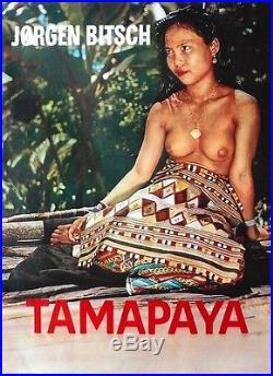 Original vintage poster TAMAPAYA ASIAN NUDE DANISH FILM c. 1960