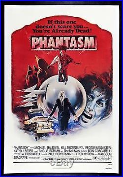 PHANTASM CineMasterpieces VINTAGE ORIGINAL SCARY HORROR MOVIE POSTER 1979