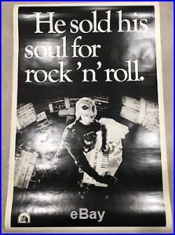 Phantom of the Paradise Vintage Original 1974 Movie Poster HUGE! Very Rare