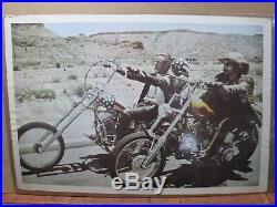 Poster Easy Rider Dennis Hooper Peter Fonda Nicholas Movie 1969 Inv#G3275