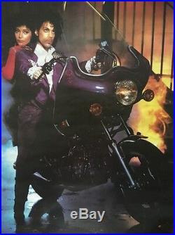 Prince Purple Rain Vintage Poster Promo Pin-Up 1984 Movie