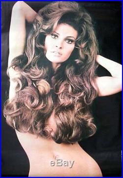 RAQUEL WELCH Vintage 1970 personality movie poster 24x36 VERY RARE (Not a Repro)