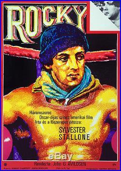 ROCKY SYLVESTER STALLONE Original Hungarian Vintage Movie Poster 1978