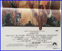 Raiders of the Lost Ark VINTAGE Australian Daybill Movie Poster 1981