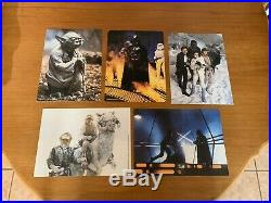 Rare Vintage Empire Strikes Back Press Brief & Lobby Cards Star Wars Elstree UK