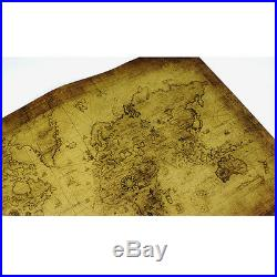 Retro Antique Poster Vintage Style Wall Decor Picture Old World Nautical Map