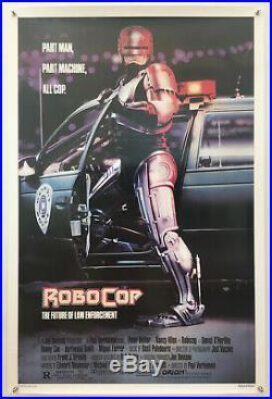 Robocop Original Vintage Movie Poster 1987