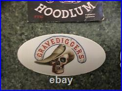 SANDY HARBUTTS STONE BIKER MOVIE FRAMED PATCH & man cave flag bar banner poster