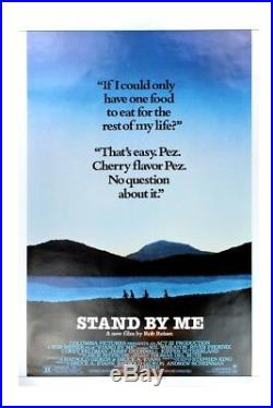 STAND BY ME-1986 ORIGINAL MOVIE POSTER VINTAGE AUTHENTIC 40x27 ROLLED ONE SIDED