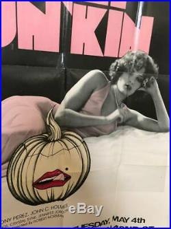 SWEET PUN'KIN Pumpkin Vintage Sexploitation Adult Porno XXX Movie Poster 1976