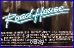Scarce Vintage Original 38 Road House Patrick Swayze Movie Barechested