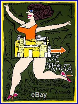 Se Permuta Cuban film wall Decoration Poster. Graphic Art Interior design. 3654