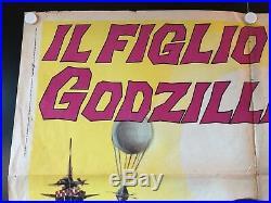 Son of Godzilla Original/Vintage Movie Poster French (1969) 40 x 55 EX/EX+