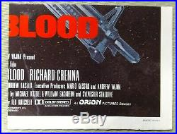 Stallone First Blood vintage original 1 Sheet Poster Folded 1982 VG+ Cond