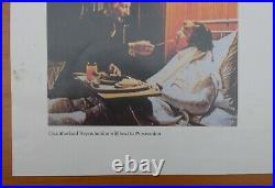 Stanley Kubrick's A Clockwork Orange vintage movie poster from 1980