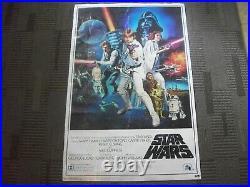 Star Wars Original 1977 Movie Poster 22x34