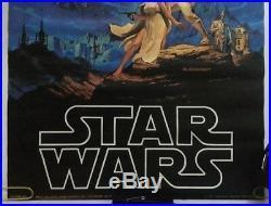 Star Wars Original Vintage Movie Poster Pin-up Hilderbrandt 1977 Fox Factors